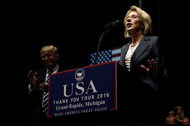 In opening remarks, Betsy DeVos stresses support of parental choice in schools