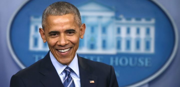 """President Obama said sometimes you read fiction """"just because you want to be someplace else."""""""