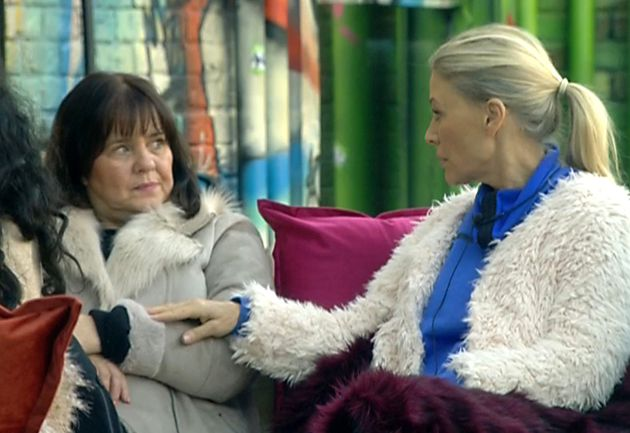 Coleen Nolan and Angie Best clashed on 'Celebrity Big