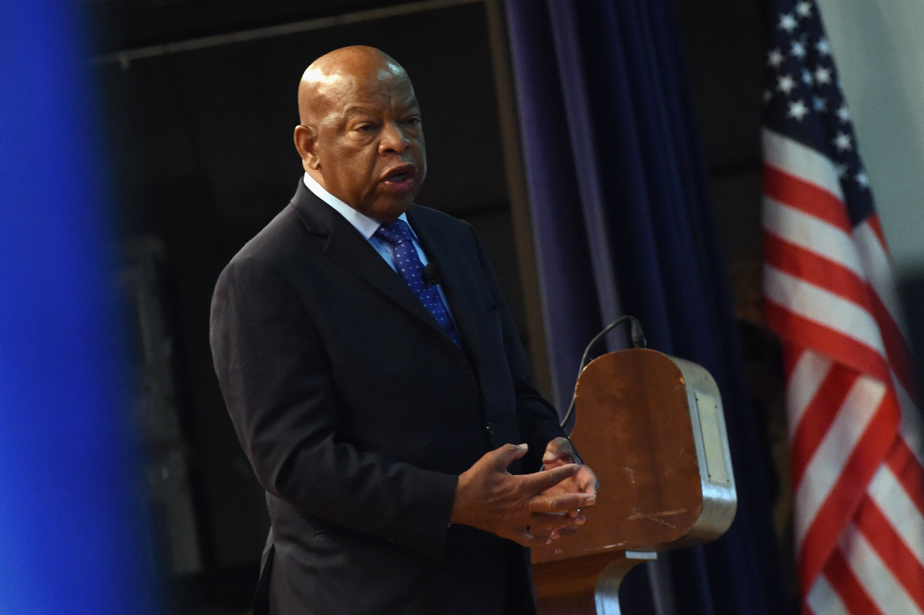 Rep. John Lewis, national treasure and American hero.