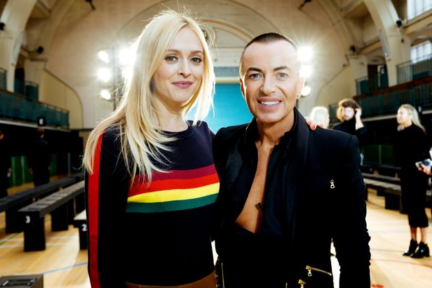 'Fearne On Fashion': Fearne Cotton Meets Julien Macdonald Backstage At London Fashion
