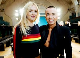 Fearne Cotton Sees More Than She Bargained For Backstage At LFW For 'Fearne On Fashion'