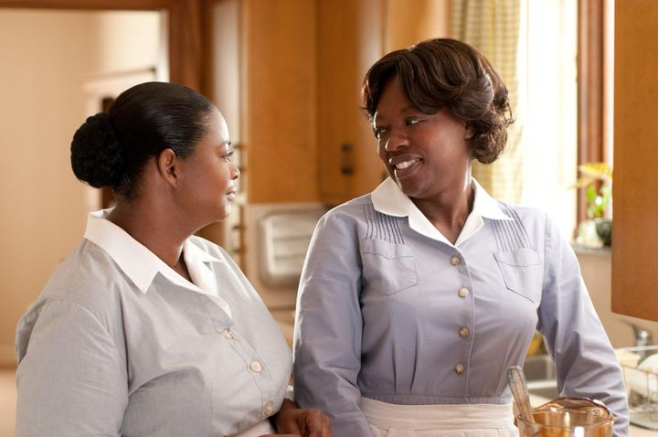 "Octavia Spencer and Viola Davis star in a scene from ""The Help."""