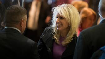 NEW YORK, NY - DECEMBER 15: Monica Crowley, recently chosen as a deputy national security advisor in President-elect Donald Trump's administration, departs Trump Tower, December 15, 2016 in New York City. President-elect Donald Trump and his transition team are in the process of filling cabinet and other high level positions for the new administration. (Photo by Drew Angerer/Getty Images)