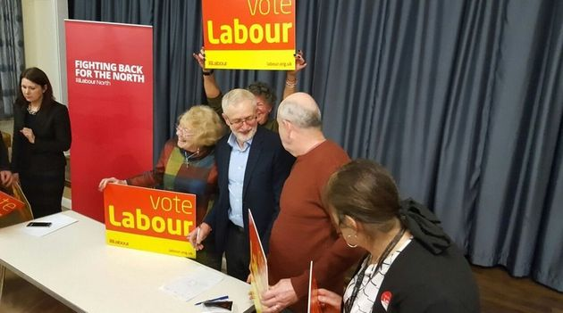 Jeremy Corbyn meets Copeland Labour