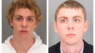 A combination booking photos shows former Stanford University student Brock Turner (L) on January 18, 2015 at the time of arrest and after Turner was sentenced to six months in county jail for the sexual assault of an unconscious woman, in Santa Clara County Sheriff's booking photo (R) released on June 7, 2016.   Courtesy Santa Clara County Sheriff's Office/Handout via REUTERS   ATTENTION EDITORS - THIS IMAGE WAS PROVIDED BY A THIRD PARTY. EDITORIAL USE ONLY