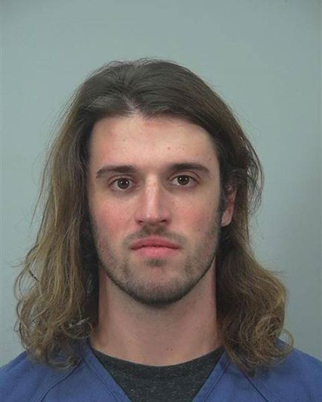 Alec Cook is pictured in this undated booking photo. Madison Police Department/Handout via Reuter