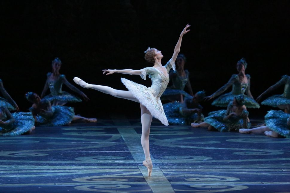 "Svetlana Zakharova in ""Sleeping Beauty."" Photo by Damir Yusupov."