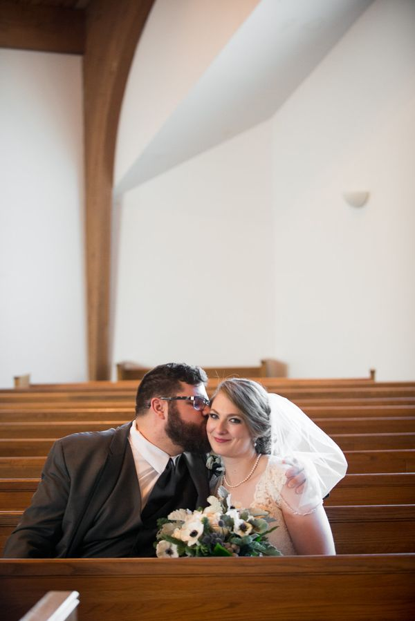 """Maddie and Justin were married on an unusually warm January day this weekend at Saxe Gotha Presbyterian Church with receptio"