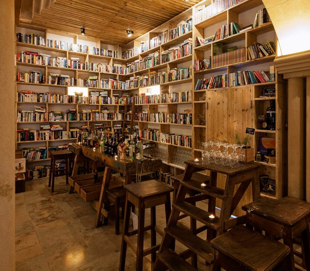 This Hotel With 50,000 Books Is A Literary Lover's Dream Come