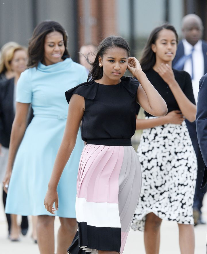 The ladies of the White House stay on fleek.