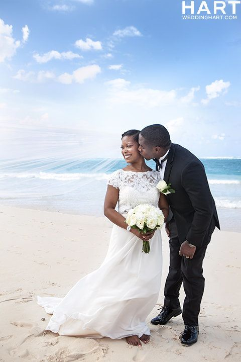 """Congratulations to Ken and Kalin Darisaw on their beautiful wedding in Punta Cana! The love of close friends and family was"