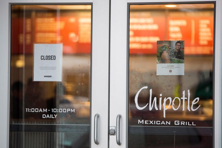 A Boston Chipotle is closed after Boston College students fell ill after eating there.