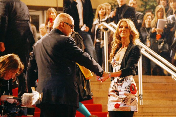 Celine Dion and her husband/longtime manager René Angélil were married for 21 years before he died in 2016.