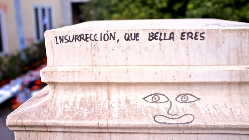 """""""Insurrection, how beautiful you are"""""""