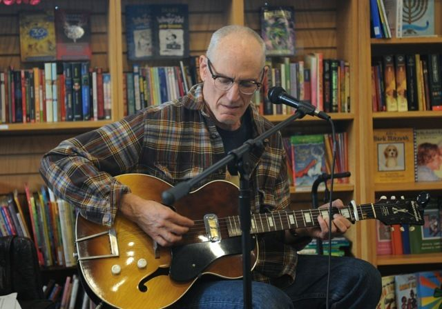 """Les Bohem plays from his new folk offering; songs include """"Fancy Footwork."""""""
