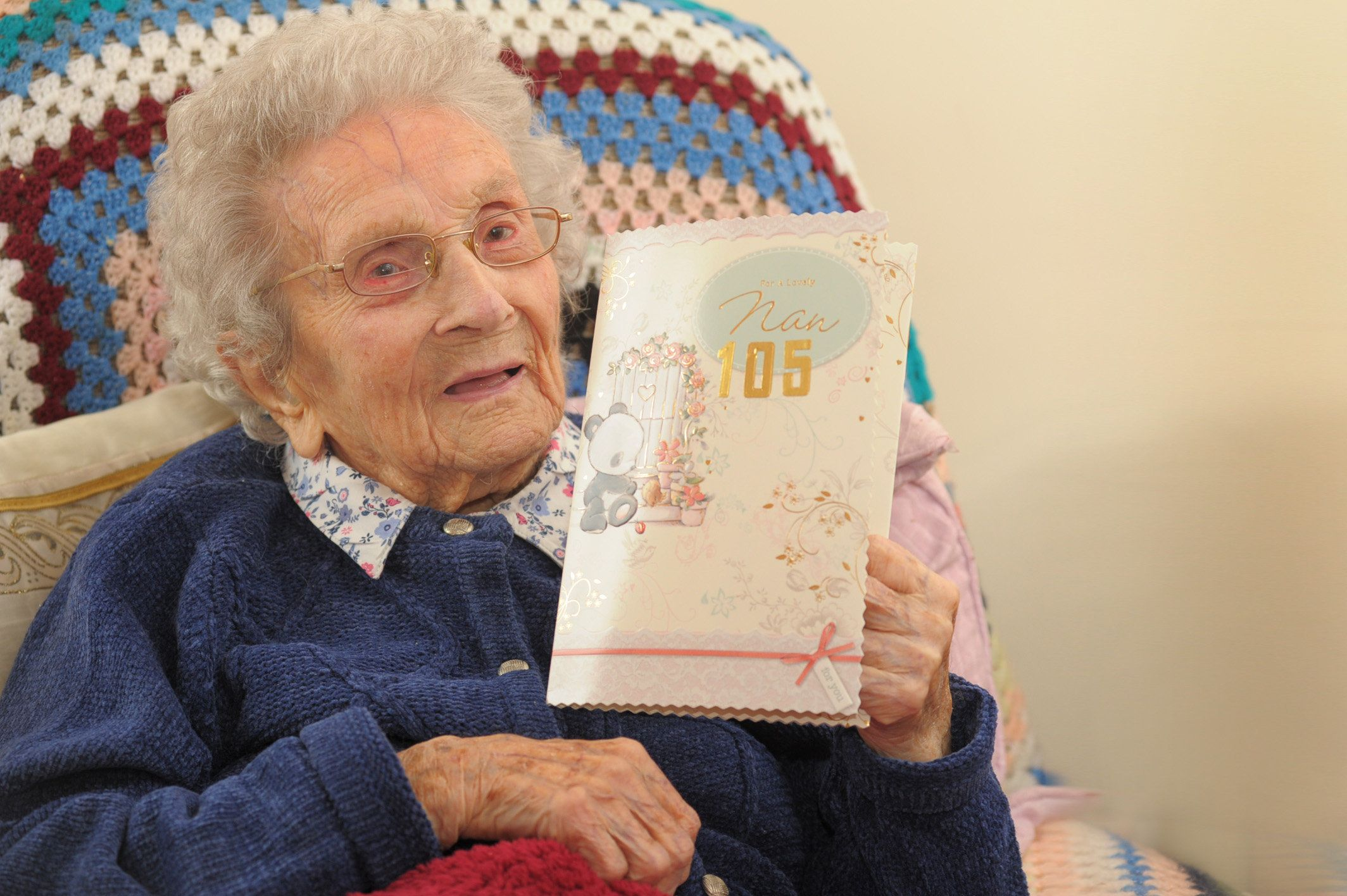 Incredible 105-Year-Old Can Still Remember All 51 Of Her Grandchildren's