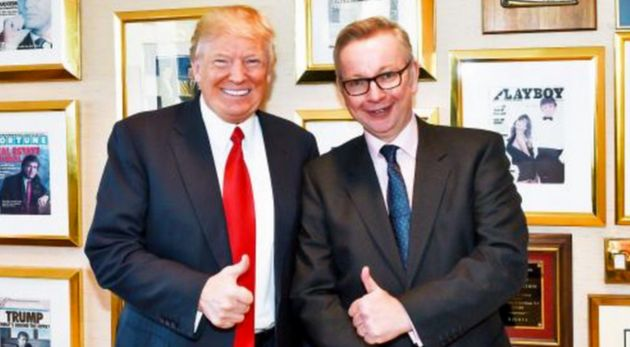 Michael Gove has been slammed for a second day over his interview with Donald