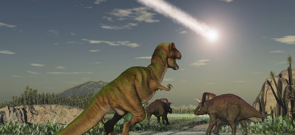 The Dinosaurs Died A Slow, Cold Death In Almost Complete Darkness