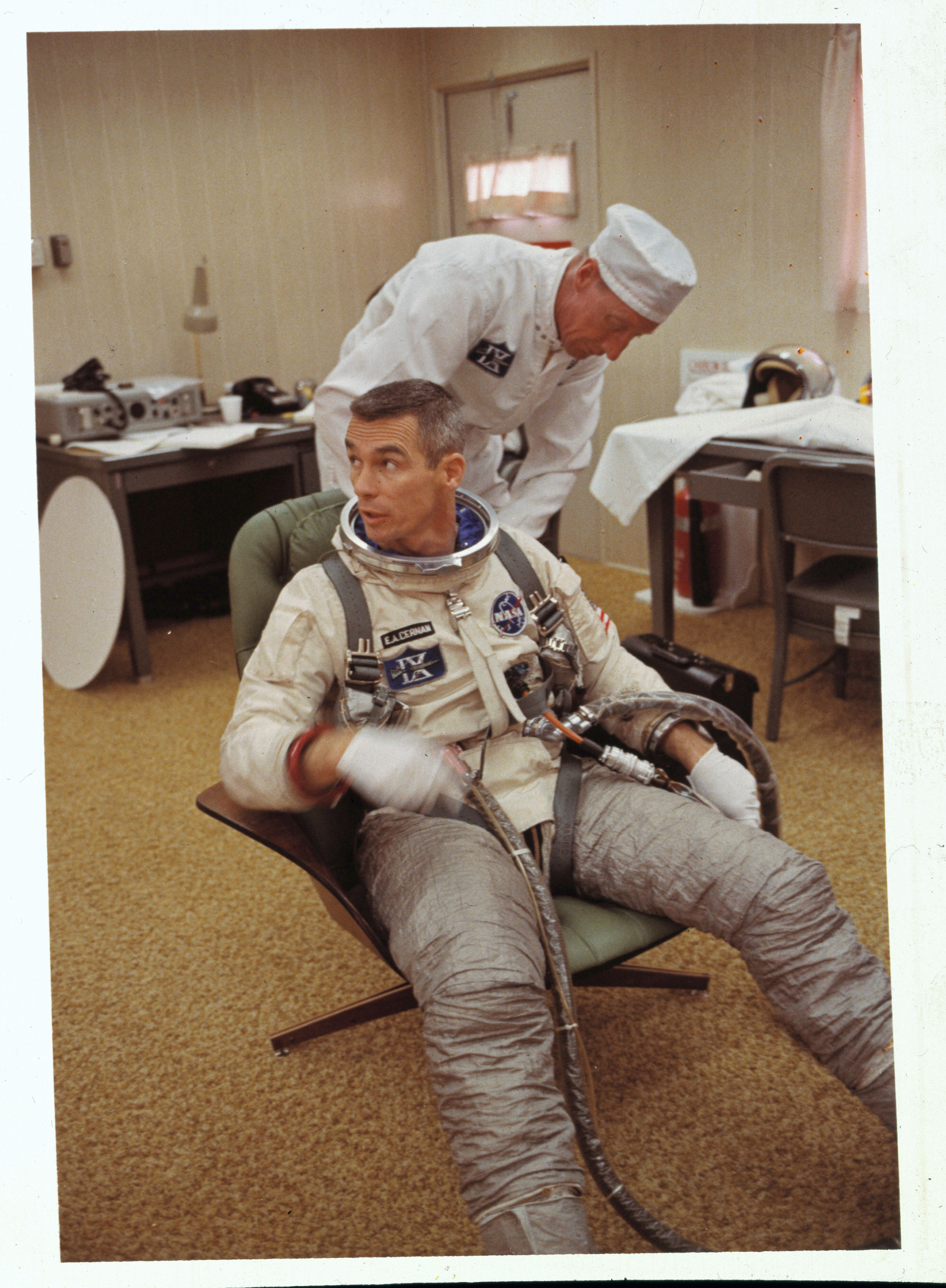 The Last Man To Walk On The Moon Has