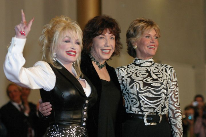 Fonda and Parton fête Tomlin while receiving the Kennedy Center's Mark Twain Prize for American Humor, also&