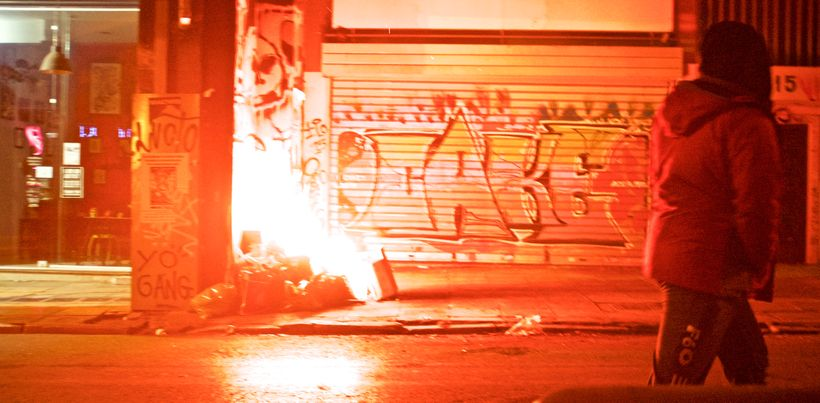 The streets of Athens, November, 2016