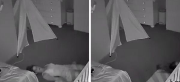 Mum Stealthily Escapes Toddler's Bedroom Like A Boss