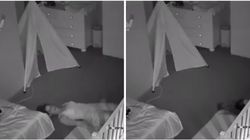 Mum Stealthily Escapes Toddler's Bedroom Like A