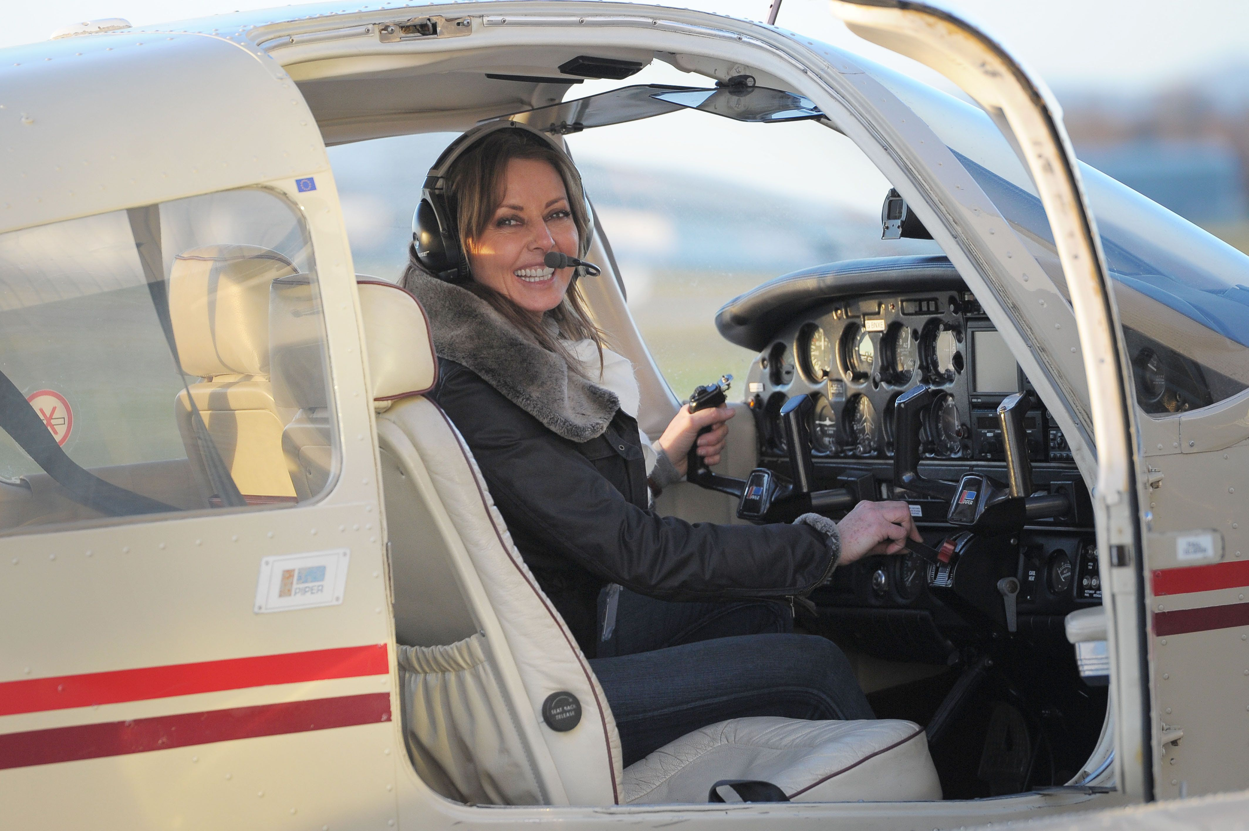 Carol Vorderman's Plan To Fly Solo Across The Globe Is Back On