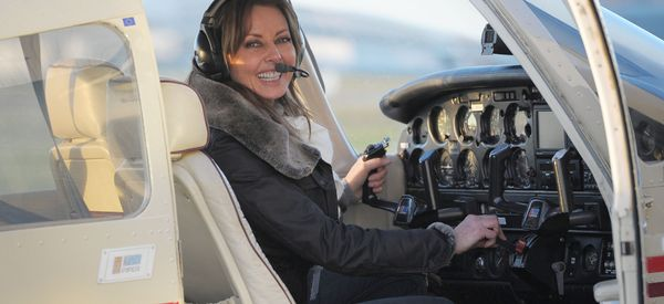 Carol Vorderman's Plan To Fly Solo Across The Globe Is Back On Track