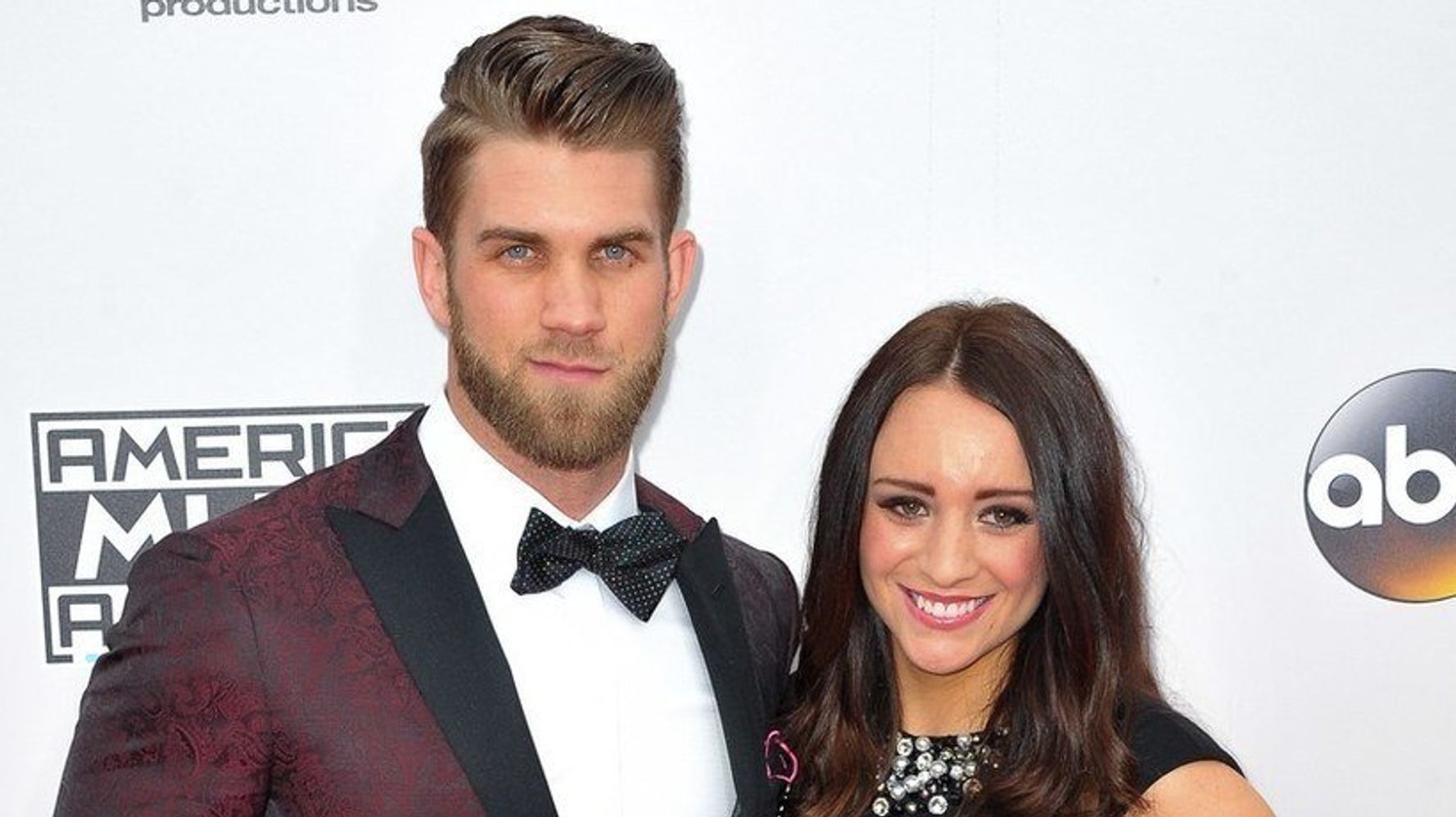 Bryce Harper Wedding.Baseball Player Bryce Harper Lined His Wedding Tuxedo With Photos Of