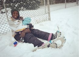 This Mom Breastfed In The Snow 'Like A Boss'