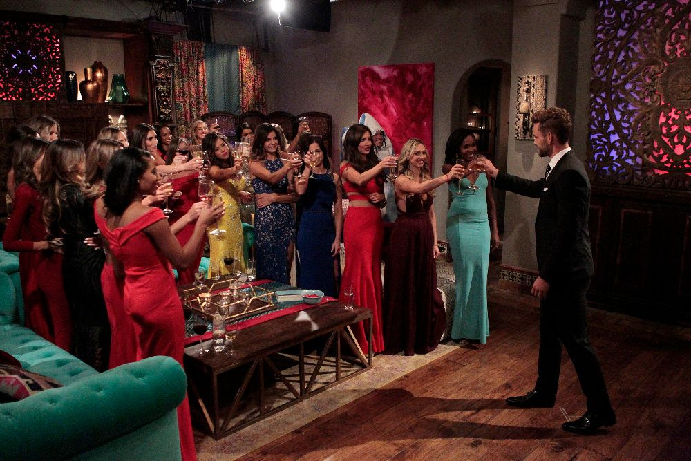 "THE BACHELOR - ""Episode 2101"" - What do a dolphin-loving woman, a successful businesswoman who runs her parents multi-million -dollar flooring empire;, a bachelorette, who is hiding a big secret about her past involving Nick, and a no-nonsense Southern belle, who has Nick in her cross-hairs for a big country wedding, all have in common? They all have their sights set on making the Bachelor, Nick Viall, their future husband when the much-anticipated 21th edition of ABC's hit romance reality series, ""The Bachelor,"" premieres, MONDAY, JANUARY 2 (8:00-10:01 p.m., ET), on the ABC Television Network. (ABC/Rick Rowell)