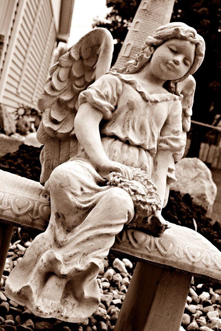 <p>Reflecting Angel</p>