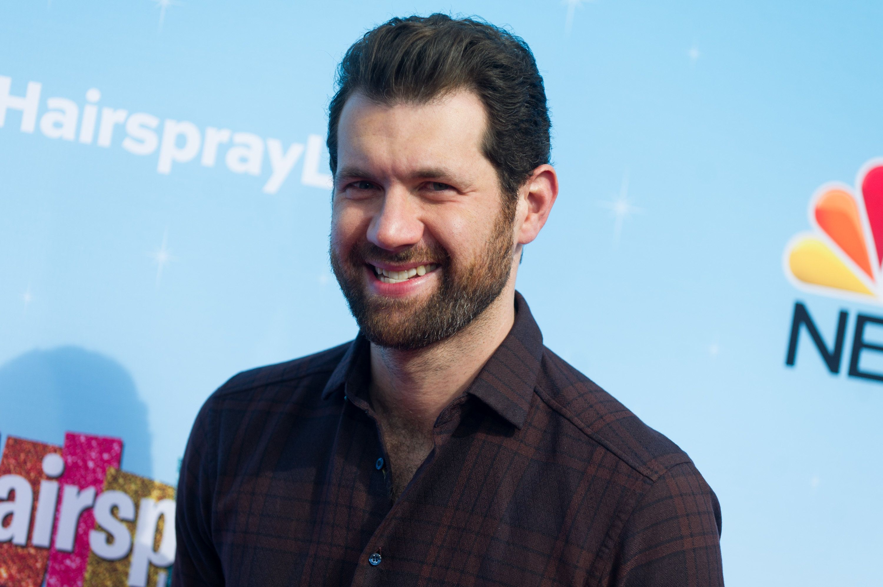 UNIVERSAL CITY, CA - NOVEMBER 16:  Actor Billy Eichner attends the press junket for NBC's 'Hairspray Live!' at NBC Universal Lot on November 16, 2016 in Universal City, California.  (Photo by Emma McIntyre/Getty Images)