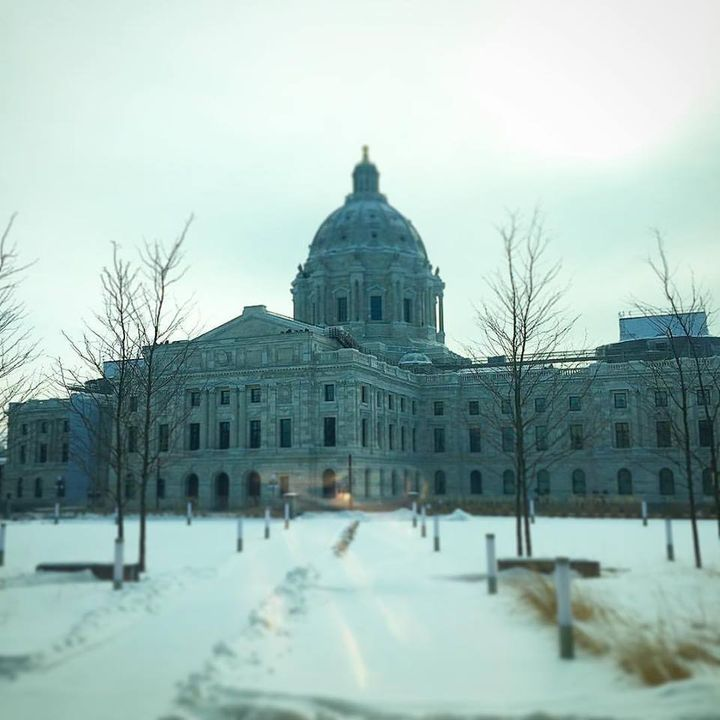 <p>Minnesota State Capitol in Saint Paul, MN</p>