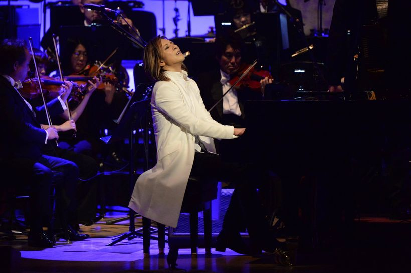 X Japan's Yoshiki raised the bar for piano players all over the world when he took the stage at Carnegie Hall last week.