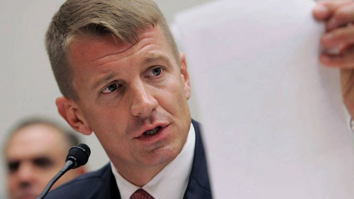 <p>On November 4, Erik Prince used Breitbart to spread disinformation domestically. Mr. Trump rewarded him for it.</p>