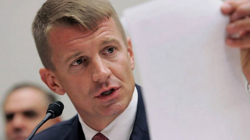 On November 4, Erik Prince used Breitbart to spread disinformation domestically. Mr. Trump rewarded him for it.