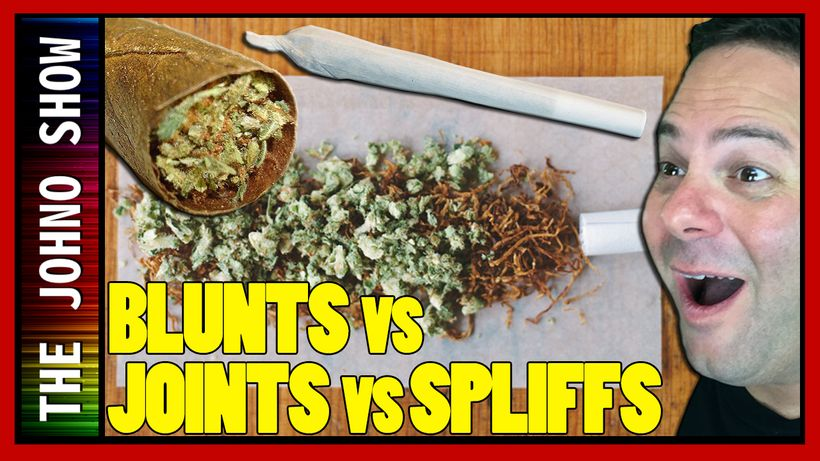 What is the difference between a Blunt a Joint and a Spliff?