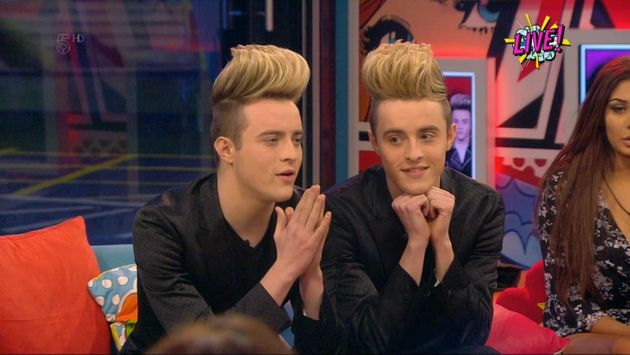 Jedward received the most nominations from the rest of their