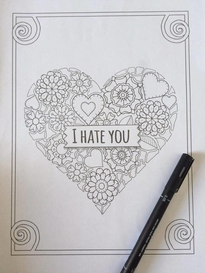 This Sweary Colouring Book Will Get You Through Your January
