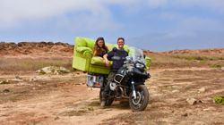 Couple's Seven Month Honeymoon By Motorbike Is Giving Us Serious
