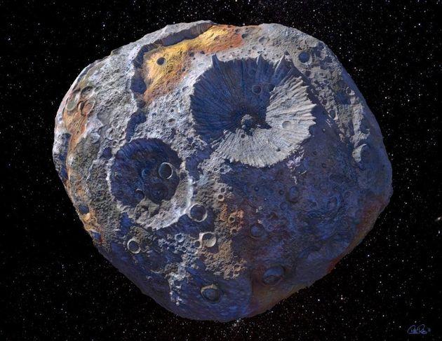 NASA Will Visit A Metal-Rich Asteroid Worth 'Quadrillions'