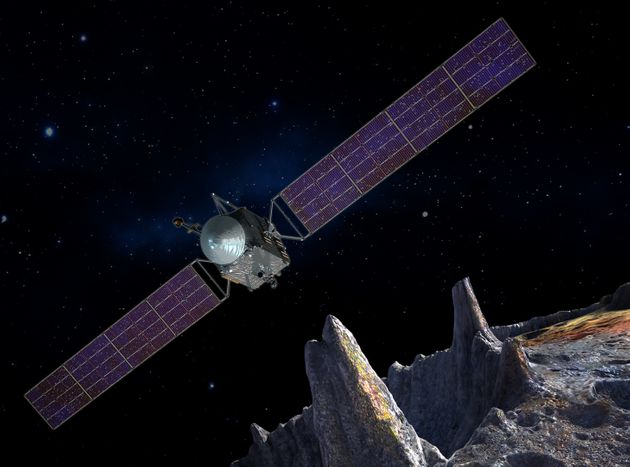 NASA's Visiting A Metal Asteroid That's Worth More Than The Entire World