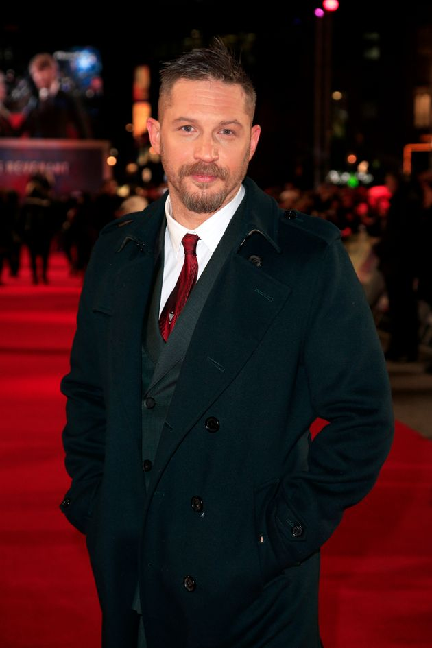 Tom Hardy doesn't want to talk himself out of a