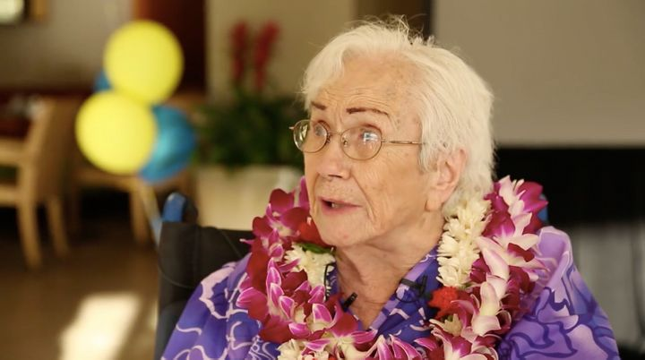 Amy Craton, 94, recently earned her bachelor's degree with a 4.0 GPA.