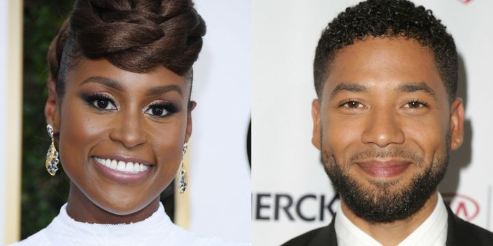 "Issa Rae and Jussie Smollett are the executive producers of the new web-series ""Giants."""