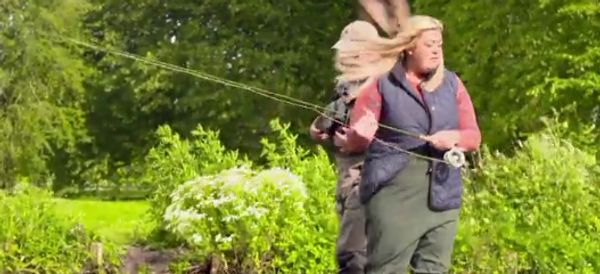 Gemma Collins' Hilarious Fishing Trip On 'Sugar Free Farm' Is The Gift That Keeps On Giving