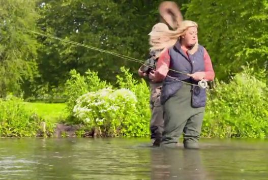 Gemma Collins' Hilarious Fishing Trip On 'Sugar Free Farm' Is The Gift That Keeps On
